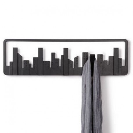 portemanteau mural design umbra skyline. Black Bedroom Furniture Sets. Home Design Ideas