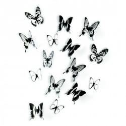 Papillons muraux décoration umbra chrysalis