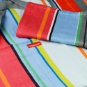 Tablier de cuisine coloré design remember stripy