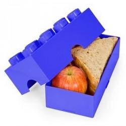 Boîte à goûter rigolo lego lunch box bleu