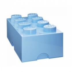BRIQUE 8 PLOTS bleu clair