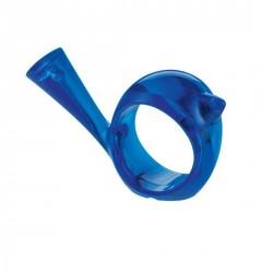 rond de serviette oiseau koziol pi:p bleu