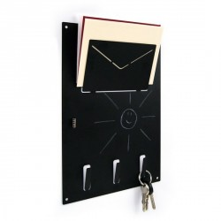 Trendform Organizer Wall-Mounted Magnetic Metal Key Rack