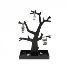 Porte-bijoux arbre noir design Dress up present time PT0273BK
