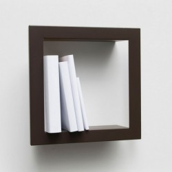 Presse Citron Stick Metal Shelf Frame Brown