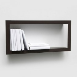 Presse Citron Largestick Metal Shelf Frame Brown