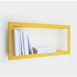 Presse Citron Largstick metal estanteria de pared amarillo