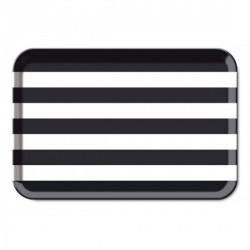 Plateau de service déco design remember black & white