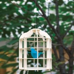 Mobile pour enfants cage d'oiseau paper mobile tuna paper