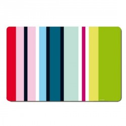 Remember TS23 Stripes multicolour Table placemats (set of 4)