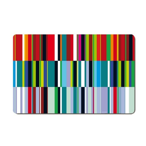Set de table multicolore d co remember prisma - Set de table multicolore ...