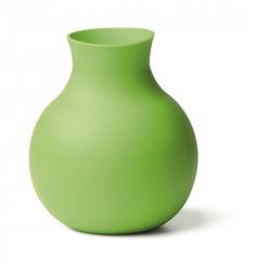 Vase vert design menu rubbervase