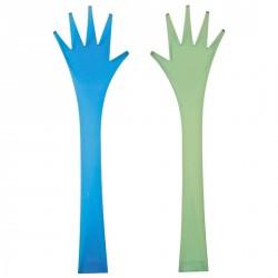 COUVERTS A SALADE ZAK DESIGNS bleu/vert