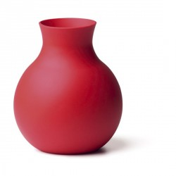 VASE ROUGE DESIGN MENU RUBBERVASE