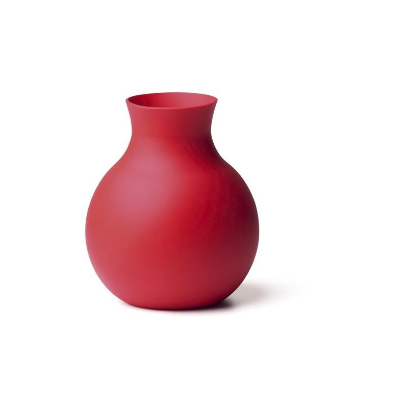 vase rouge design menu rubbervase. Black Bedroom Furniture Sets. Home Design Ideas