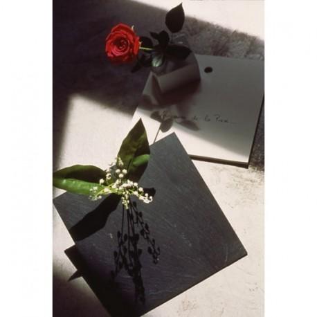 Vase ardoise bloc notes au nom de la prose c quoi