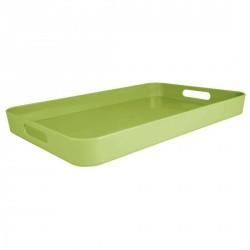 Plateau de service rectangulaire vert zak designs L 53,5 x 34,5 cm