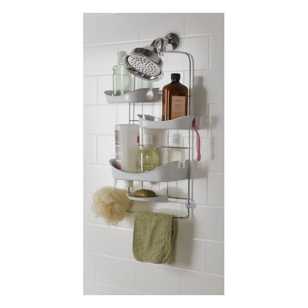 Accessoire rangement de douche umbra trellis