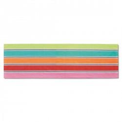 Chemin de table design multicolore remember jolly