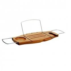 Pont de baignoire bois bambou design umbra aquala