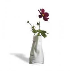 Vase blanc design le sack pa design