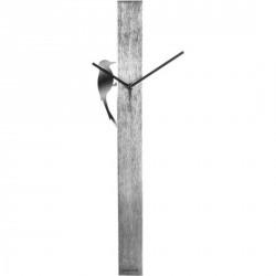 Horloge karlsson woodpecker tube métal KA5418CH