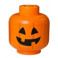 Lego brique rangement tête de citrouille pumpkin S