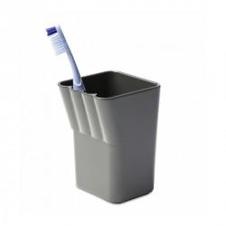 Porte brosses à dents design gris authentics kali