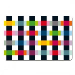Set de table multicolore remember colour caro TS29
