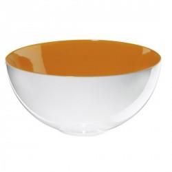 Saladier orange porcelaine asa colour it