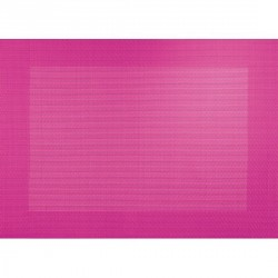 Asa selection PVC table placemat pink
