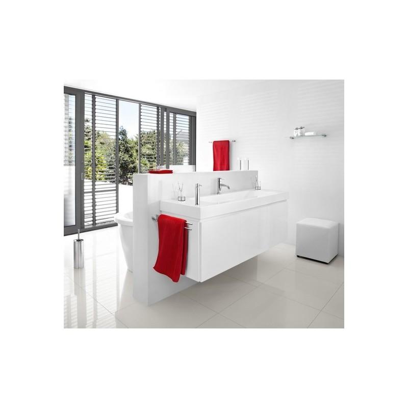 Porte serviettes mural design salle de bains blomus sento for Porte serviette salle de bain design