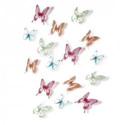 Sticker papillons multicolores umbra chrysalis