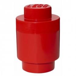 Lego géant boîte ronde rouge