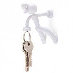 Attrape clefs magnétique key petite blanche peleg design