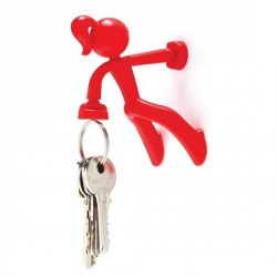 Aimant porte clefs key petite rouge peleg design