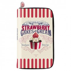 Cartera de mujer monedero de mujer BMC cake cream