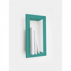 Presse Citron High Stick Metal Shelf Frame Turquoise