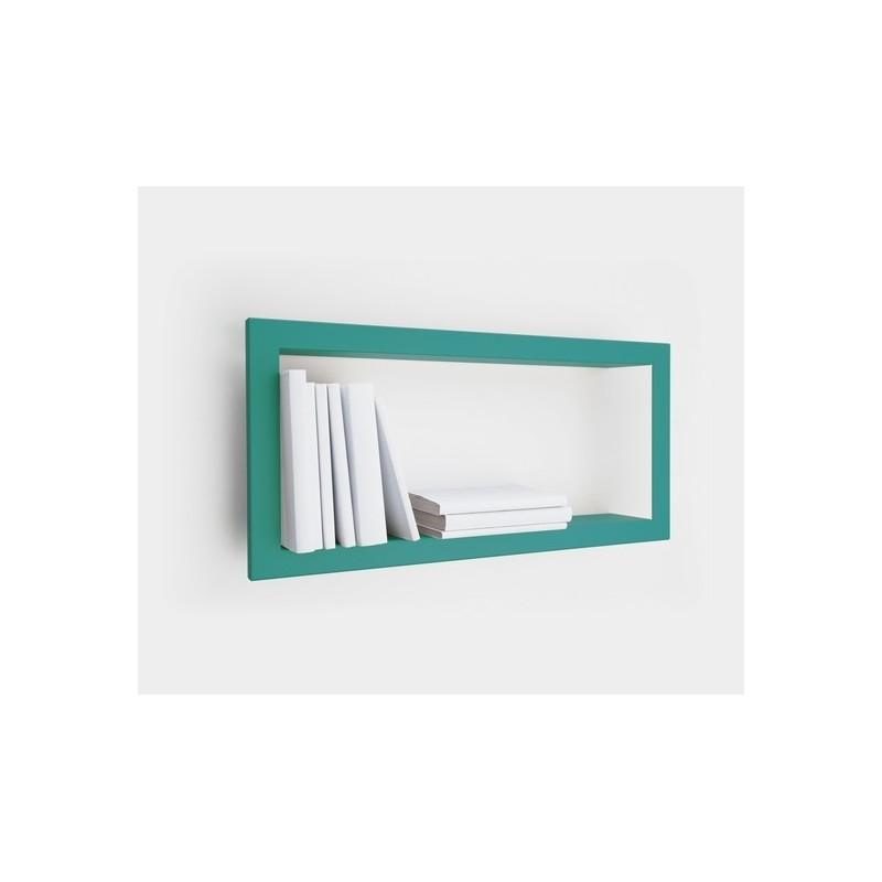 etagere cadre rectangulaire turquoise presse citron largstick. Black Bedroom Furniture Sets. Home Design Ideas