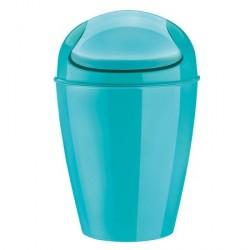 poubelle salle de bains turquoise koziol dell s