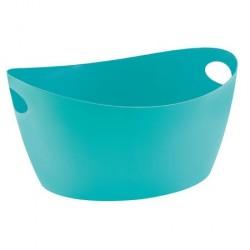 Mini panier rangement turquoise koziol bottichelli s