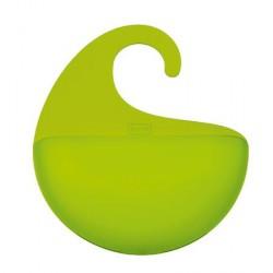 Accessoire rangement à suspendre koziol surf xs vert transparent