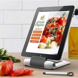 Lutrin cuisine pour tablette avec stylet iPrep prepara