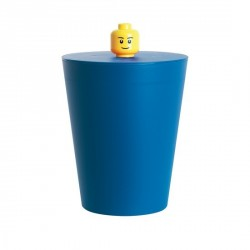 Corbeille lego bleue multi basket