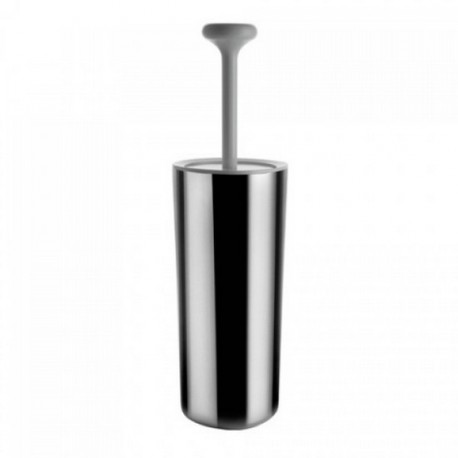 Balayette de toilette birillo gris kdesign - Decoration toilette gris ...