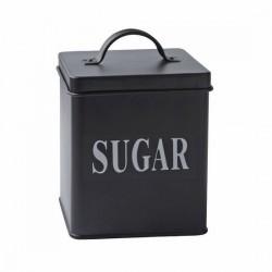 Galzone Black Metal Sugar Tin