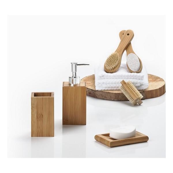 Accessoire salle de bain bambou accessoires pour salle for Accessoires pour salle de bain en bois