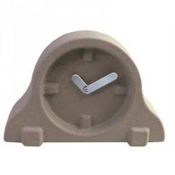 Horloge à poser design paper pulp clock