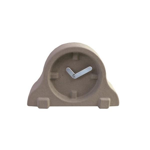 Horloge poser design paper pulp clock kdesign - Horloge a poser design ...