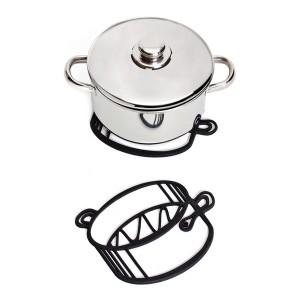 Dessous de plat rigolo sketch trivet marmite pa design